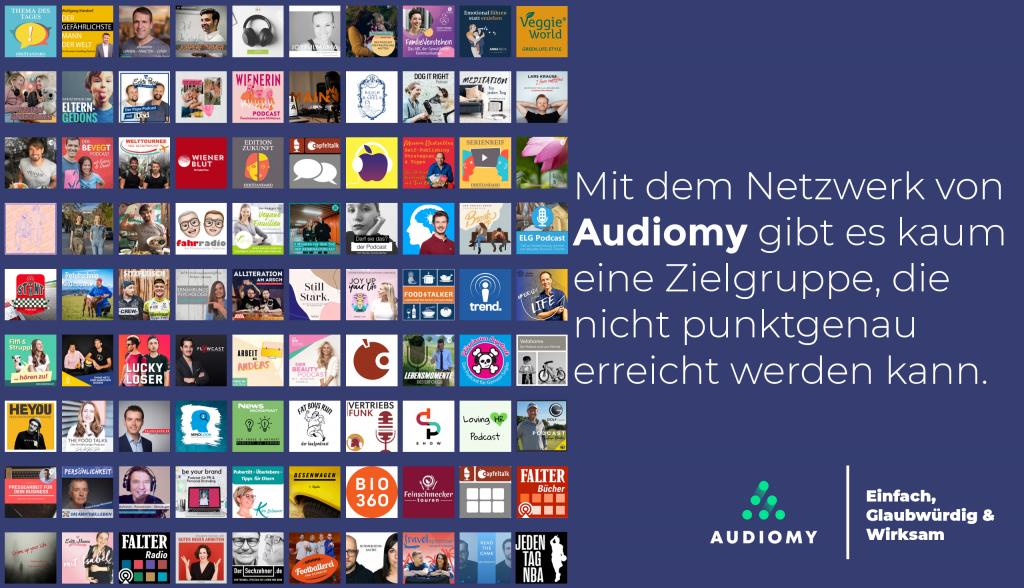 Audiomy, Podcasts