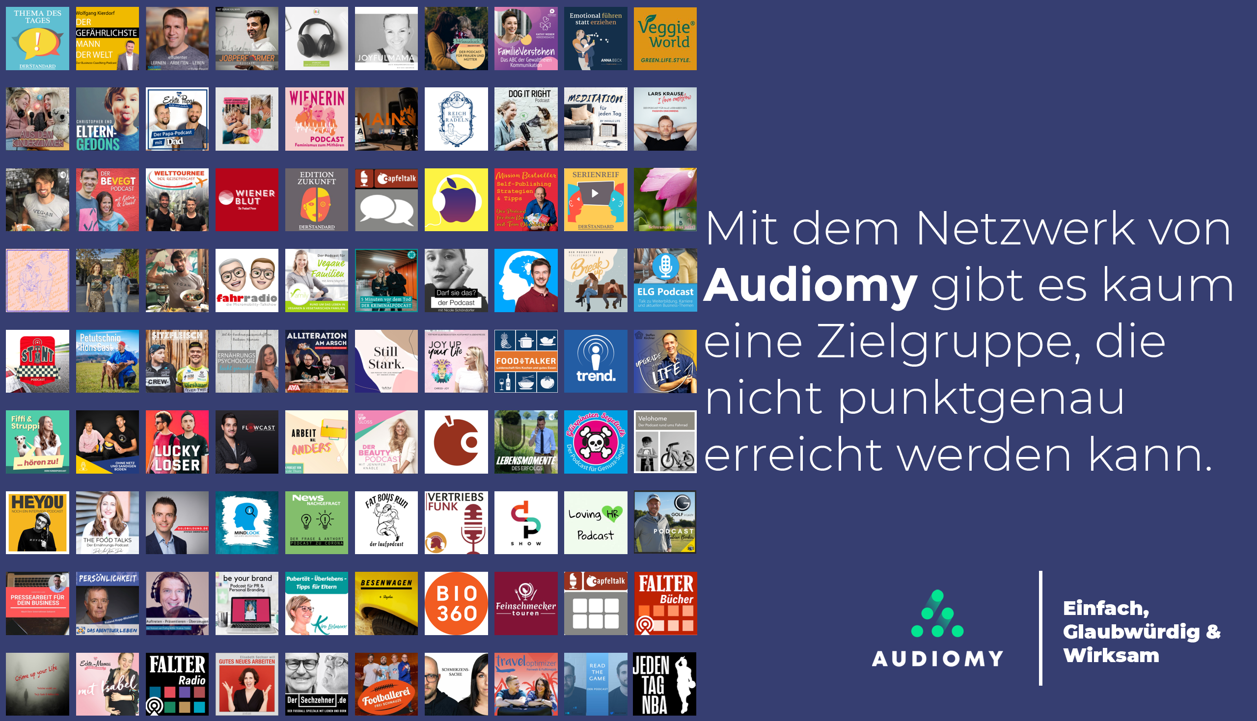 Audiomy, Podcasts