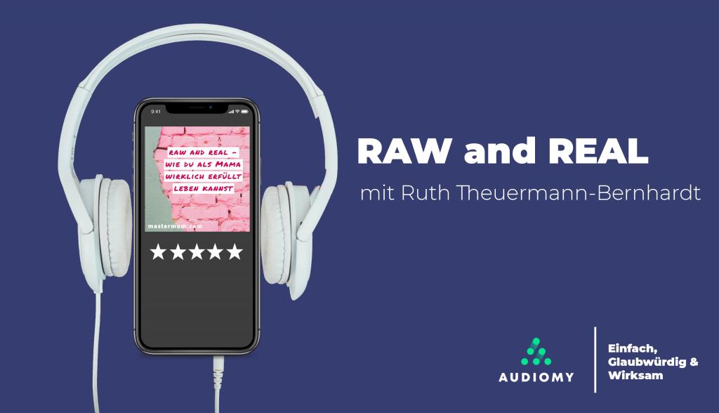 RawandReal, Podcasts, Lila, Audiomy, Kopfhörer