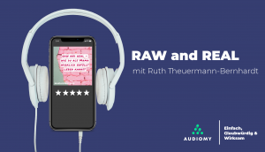 RawandReal, Podcasts, Lila, Audiomy, Kopfhörer