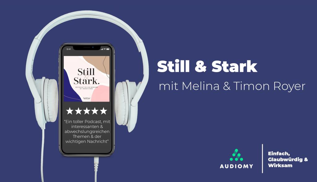 Podcast, Kopfhörer, Lila, Still & Stark, Audiomy