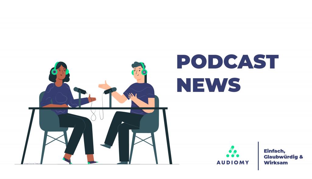 Podcast News, Mikrofon, Podcaster, Audiomy